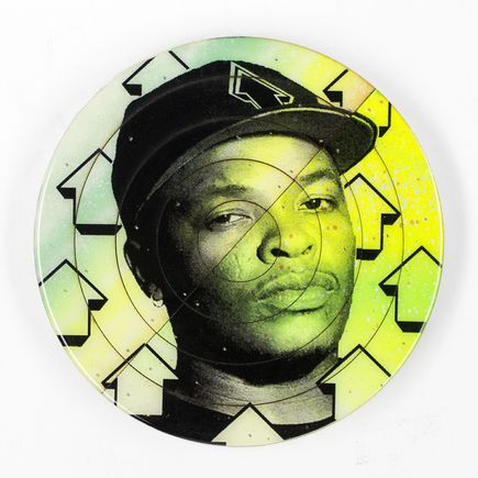 Tavar Zawacki Art - Cut The Record - Dr. Dre #5 - Hand-Painted Multiple