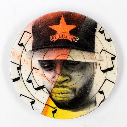 Tavar Zawacki Art - Cut The Record - J Dilla #4 - Hand-Painted Multiple
