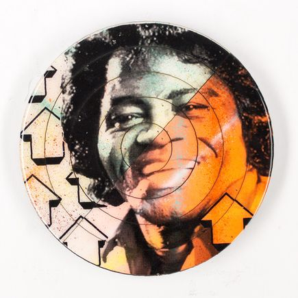 Tavar Zawacki Hand-painted Multiple - Cut The Record - James Brown #1 - Hand-Painted Multiple