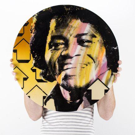 Tavar Zawacki Original Art - Cut The Record - James Brown - Original Artwork