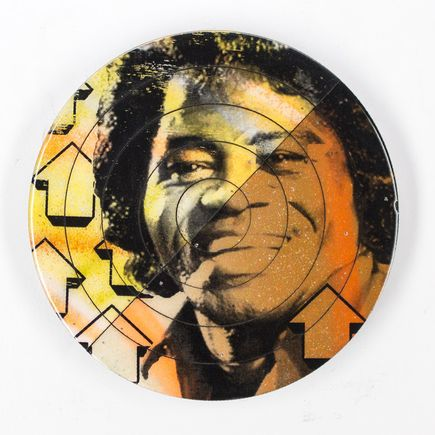 Tavar Zawacki Hand-painted Multiple - Cut The Record - James Brown #3 - Hand-Painted Multiple