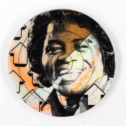 Tavar Zawacki Hand-painted Multiple - Cut The Record - James Brown #5 - Hand-Painted Multiple