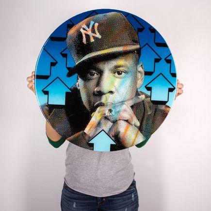 Tavar Zawacki Original Art - Cut The Record - Jay-Z - Original Artwork