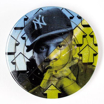 Tavar Zawacki Art - Cut The Record - Jay-Z #2 - Hand-Painted Multiple