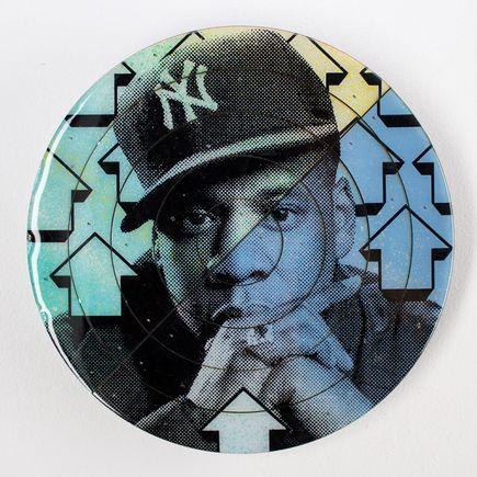 Tavar Zawacki Art - Cut The Record - Jay-Z #4 - Hand-Painted Multiple