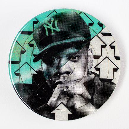 Tavar Zawacki Art - Cut The Record - Jay-Z #5 - Hand-Painted Multiple