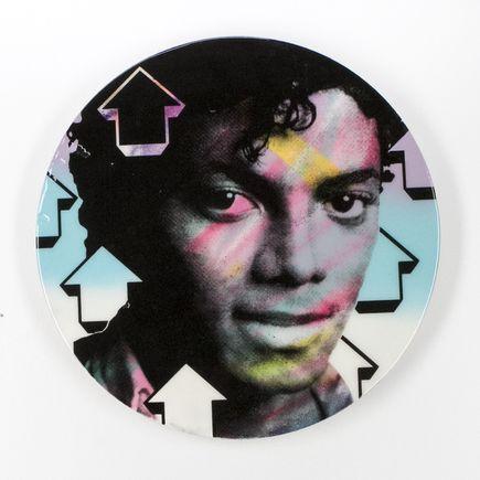 Tavar Zawacki Original Art - Cut The Record - Michael Jackson - Original Artwork