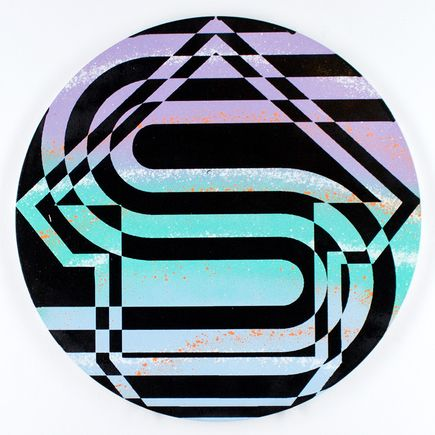 Tavar Zawacki Hand-painted Multiple - Psychedelic Sunset Strip #1