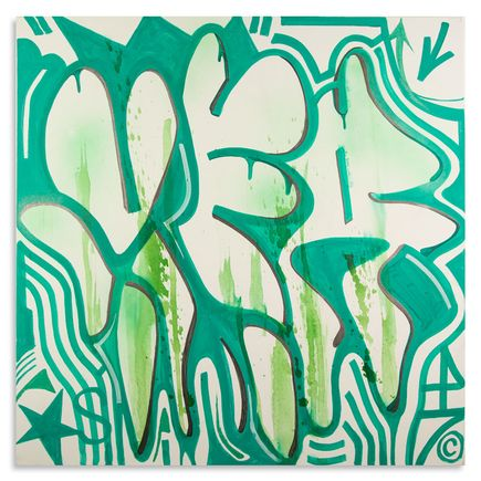 VFresh Original Art - Uni Green