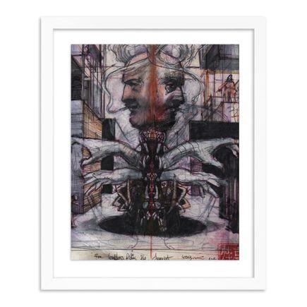 Adam Caldwell Original Art - The Goddess Rides the Chariot