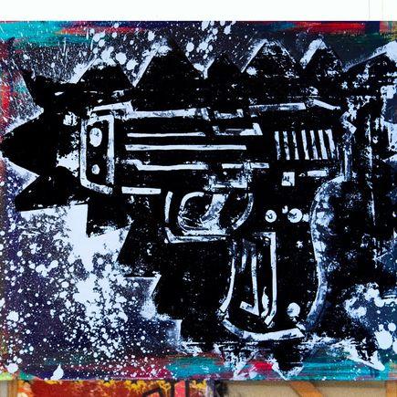 Adam Dare Original Art - Gunz #3 - Original Painting