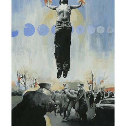 Adam Caldwell Art Print - As He Rose & Fell