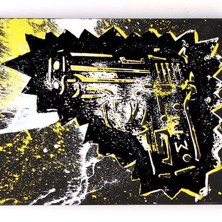 Adam Dare Art - Fight To Win...FTW - Yellow Variant