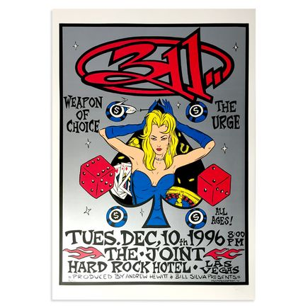 Alan Forbes Art - 311 - Dec. 10th, 1996 at The Hard Rock Las Vegas, NV