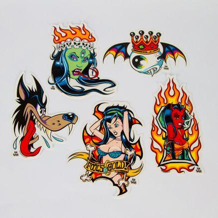 Alan Forbes Art - Alan Forbes - Sticker Pack