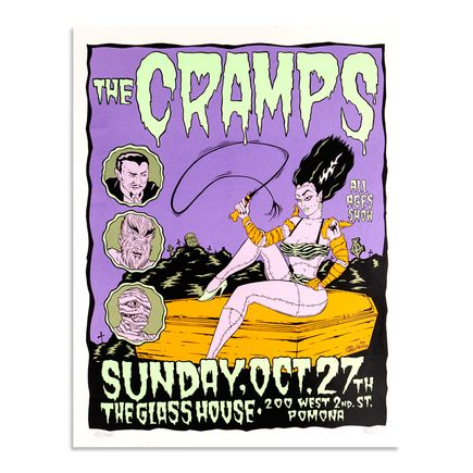 Alan Forbes Art - The Cramps - October 27th, 1996 at The Glass House
