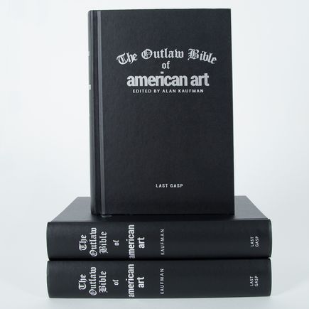 Alan Kaufman Book - The Outlaw Bible of American Art