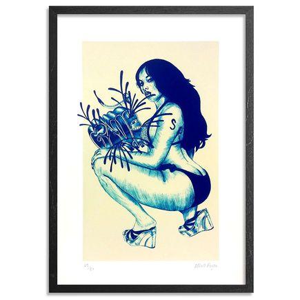 Albert Reyes Art Print - Ballpoint Booty