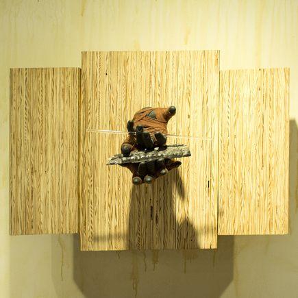 Sarah Sitkin Original Art - Material Bondage