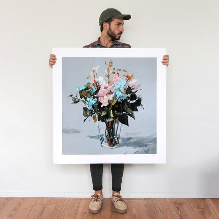 Alpay Efe Art Print - Vanguard V - Hand-Embellished Oversized Prints