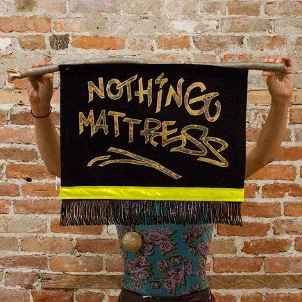 Amy Fisher Price Original Art - Nothing Mattress