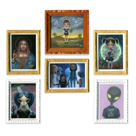 Ana Bagayan Art Print - Complete 6-Print Set - Ana's Dollhouse – Star Children: A Miniature Print Suite
