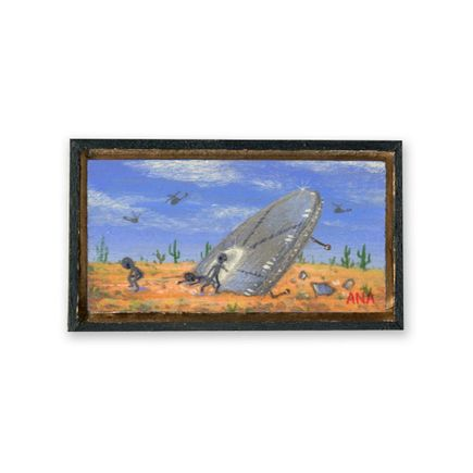 Ana Bagayan Original Art - Original Artwork - Roswell Crash