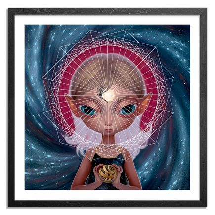 Ana Bagayan Art - Framed - Message From Inner Earth - Hand-Embellished Edition
