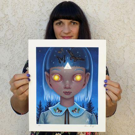 Ana Bagayan Art Print - Release - Hand-Embellished Edition