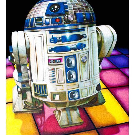 Andrew Spear Art Print - R2-DEESCO
