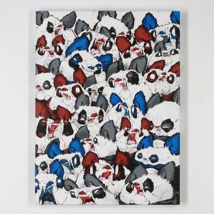 Woes Martin Original Art - Fangs And Furballs - Original Artwork