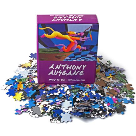 Anthony Ausgang Art - Way to Go Puzzle Set