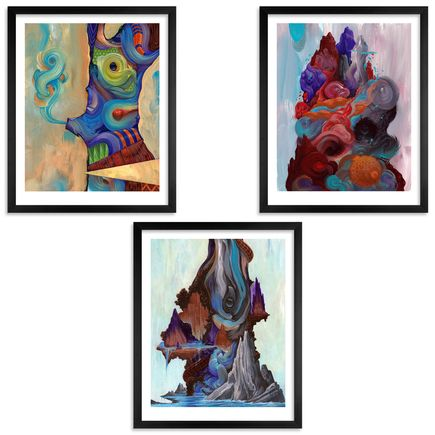 Anthony Hurd Art Print - New World Disorder - 3 Print Set