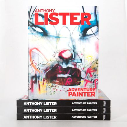 Anthony Lister Book - Adventure Painter
