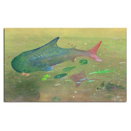 Apak Original Art - We All Swim Together