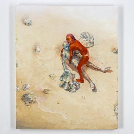 Apolo Cacho Original Art - Lovers In The Beach