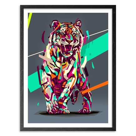 Arlin Art Print - Siberian Tiger - 18 x 24 Inch Edition
