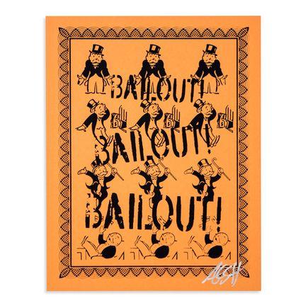 Armando Chainsawhands Art - Bailout - Orange Variant