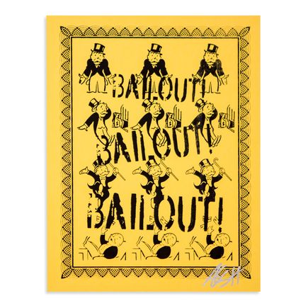 Armando Chainsawhands Art - Bailout - Yellow Variant
