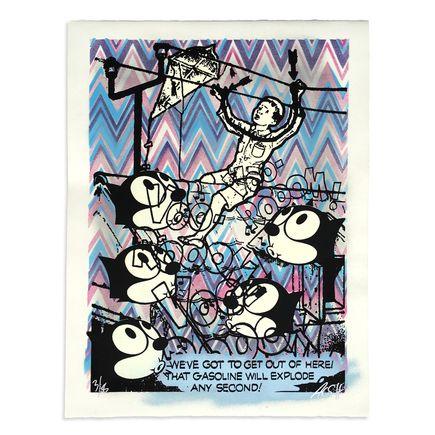 Armando Chainsawhands Art - Gasoline