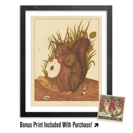 Arna Miller Art Print - Break Time + Bonus Print