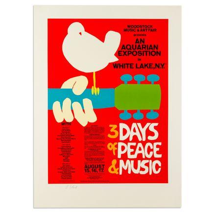 Arnold Skolnick Art - Woodstock - 3 Days Of Peace & Music