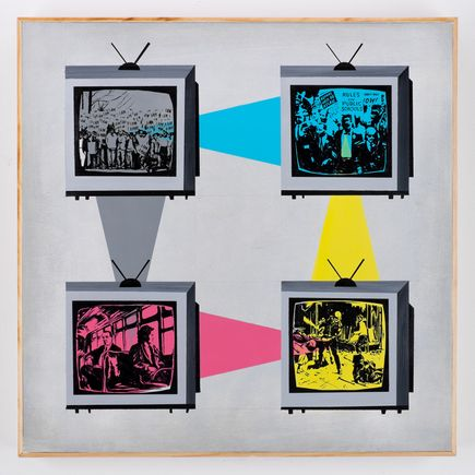 Jesse Kassel Original Art - Televised