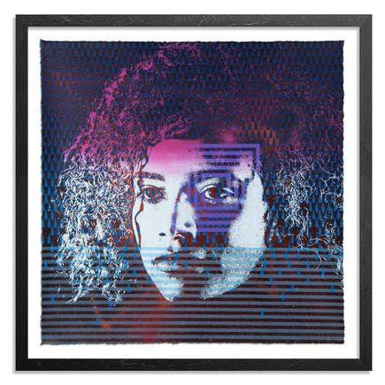 Askew One x Beastman Art Print - Elsie / Torrential