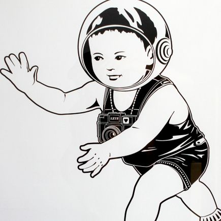 ASVP Original Art - Vector Baby 2