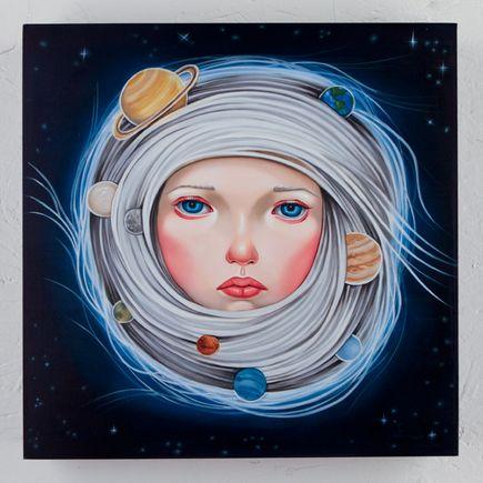 Audrey Pongracz Original Art - Interplanetrary