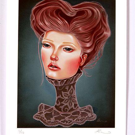 Audrey Pongracz Art Print - Mini Print by Audrey Pongracz
