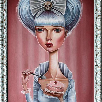 Audrey Pongracz Original Art - To Die For