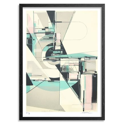 Augustine Kofie Art - Circulate System Shift - Framed