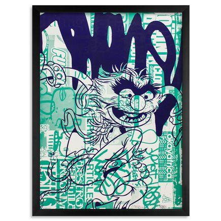 Avone & Matt Siren Art Print - Electric Mayhem - Green Variant
